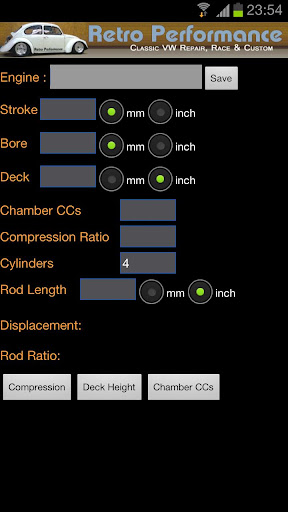 Engine Calculator
