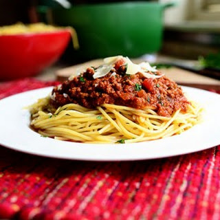 Spaghetti Sauce With Diced Tomatoes Recipes