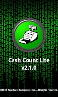 Screenshot of Cash Count Lite