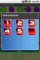 Screenshot of Android Futoshiki Lite