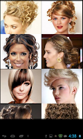 Screenshot of Hair Styles
