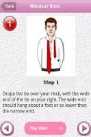 Screenshot of Easy Tie Knot Lite