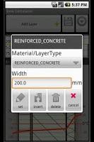 Screenshot of Energy Analysis Tool