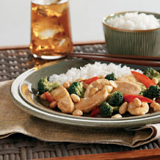Asian Chicken with Peanuts