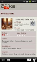 Screenshot of NDTV Cooks
