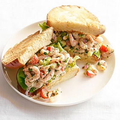 "Shrimp ""Louis"" Sandwiches"