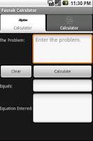 Screenshot of Fausak Calculator FREE!