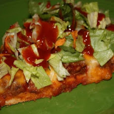 The Best Taco Pizza Ever!!