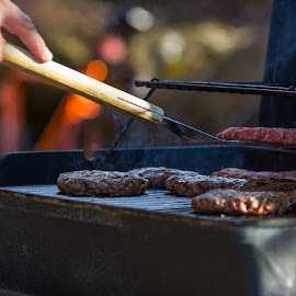 There's just something about food cooked outdoors…  It's just so much better. by Nick Koppy - Food & Drink Meats & Cheeses