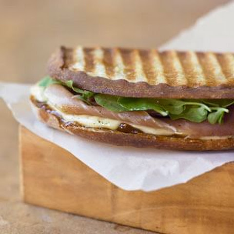 The Fig, Prosciutto and Brie Panini Recipe | Yummly