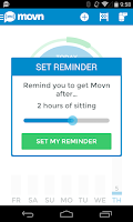 Screenshot of Movn Smart Pedometer