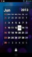 Screenshot of S2 Calendar Widget