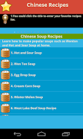 Screenshot of Chinese Recipes