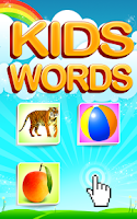 Screenshot of Easy Learning of Words 4 Kids
