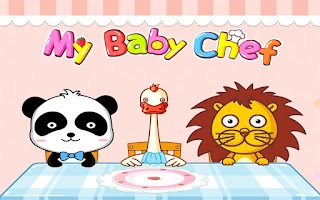 Screenshot of My Baby Chef by BabyBus