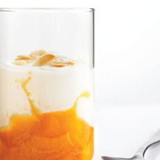 Apricot-Compote Yogurt Parfaits