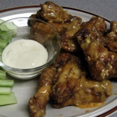 Red-Hot Cajun Blue Cheese Wings