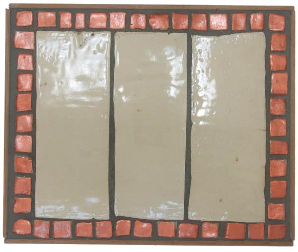 Rectangular Tiles & Copper Mosaics <br> 14,5 x 17,5 in