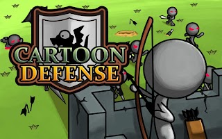 Screenshot of Cartoon Defense