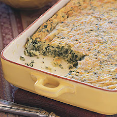 Semolina and Spinach Gratin