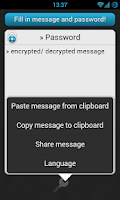 Screenshot of Encryption (Krypto)