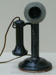 Candlestick Phones - De Veau Straight Shaft Candl $175