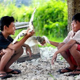 :: Playing :: by Dedy Haryanto - Babies & Children Children Candids (  )