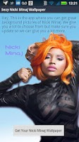 Screenshot of Nicki Minaj Wallpaper App