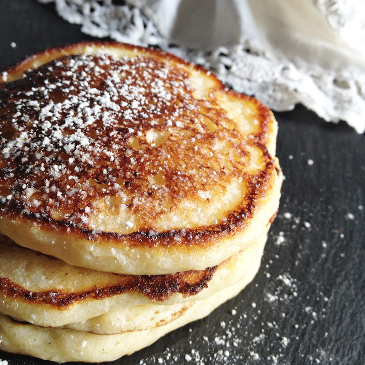 Lemon Ricotta Pancakes Recipe | Yummly