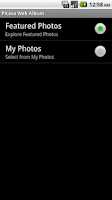 Screenshot of Picasa for MultiPicture LiveWP