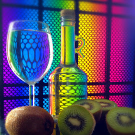 Kiwi time by Janette Ho - Food & Drink Fruits & Vegetables ( Lighting, moods, mood lighting,  )