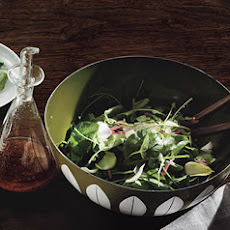 Watercress Salad with Port-Braised Figs and Pickled Onions