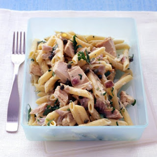 Penne with Tuna and Red Onion