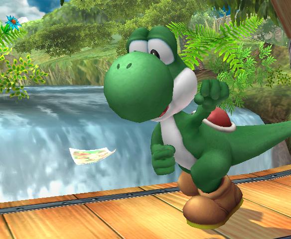Snake actor stars in Smash Bros.
