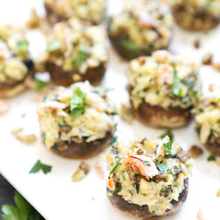 Feed Your Creativity — Creamy Havarti Stuffed Mushrooms with Crab
