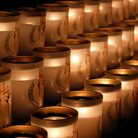 Prayers by Megan Richardson - Artistic Objects Other Objects ( candle, prayer, church, candles, light, hope, flame )
