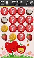 Screenshot of Fruits Memory Game For Kids