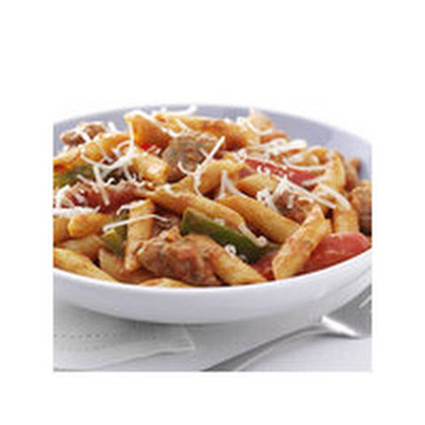 Zesty Penne, Sausage and Peppers