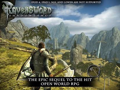 Game Ravensword: Shadowlands 3d RPG APK for Windows Phone