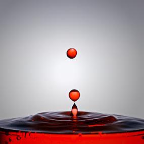 Last Drops by Marlon Managi - Abstract Water Drops & Splashes