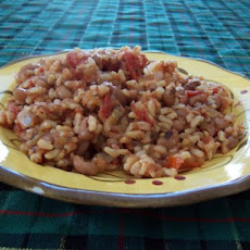 Spicy Rice and Black-Eyed Peas