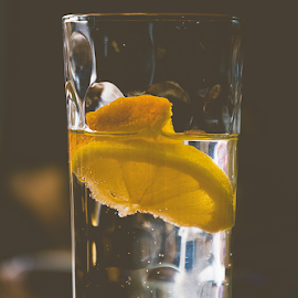 When life gives you lemons by Lisa Davies - Food & Drink Alcohol & Drinks ( vintage, still life, drink, drinks )