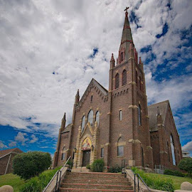 St. Johns Catholic, Logan by Bud Schrader - Buildings & Architecture Places of Worship
