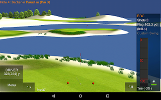Screenshot of IRON 7 ONE Golf Game FULL