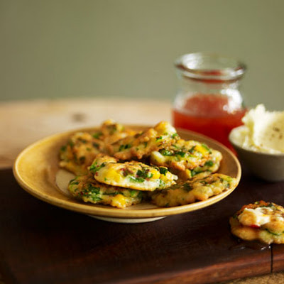 Crab & Sweet Corn Cakes