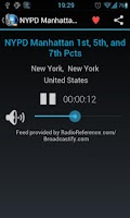 Screenshot of MyScanner-Police Scanner Radio