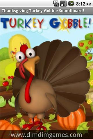 Thanksgiving Turkey Gobble