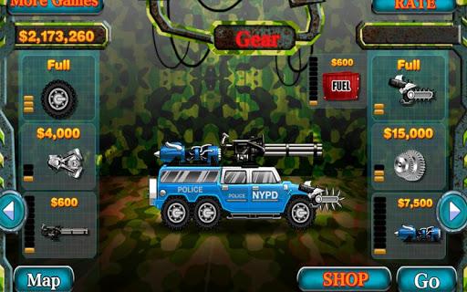 Smash Police Car - Outlaw Run - screenshot