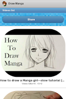 Screenshot of How to Draw Manga