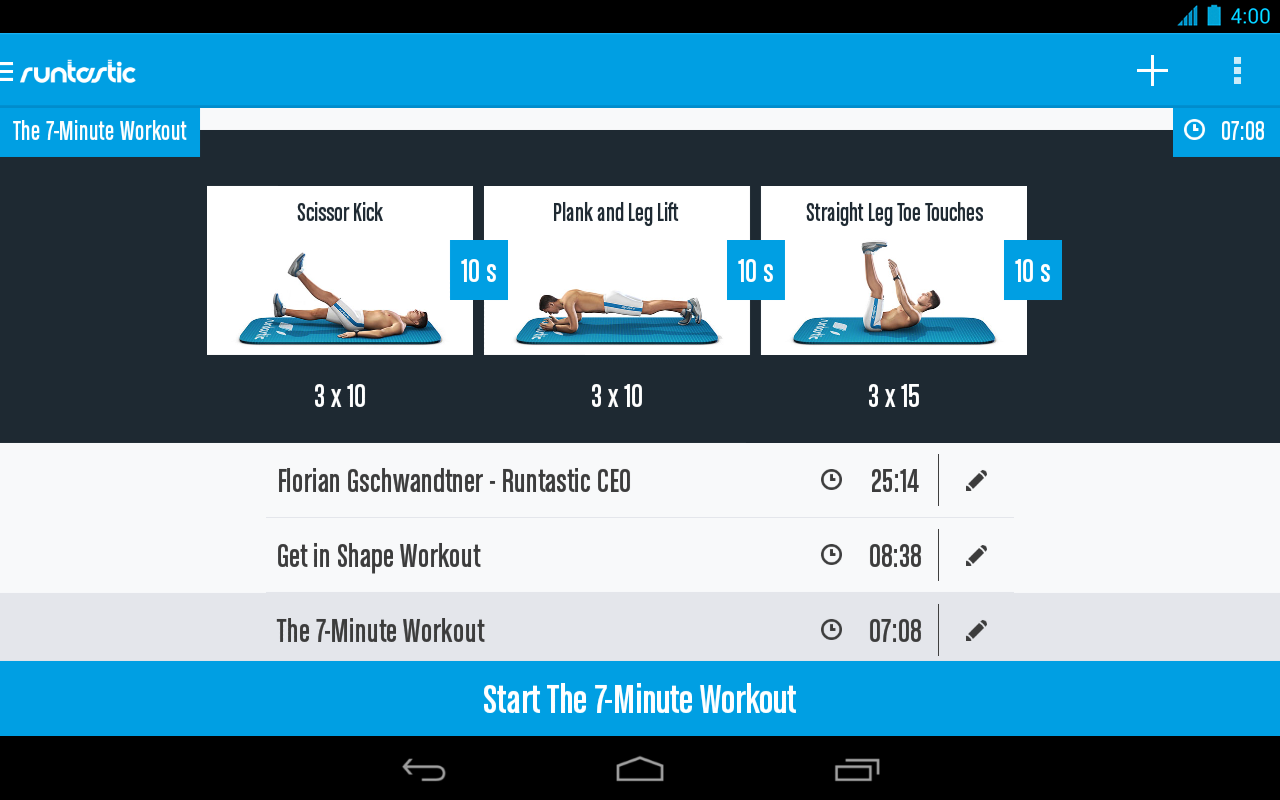 Runtastic Six Pack Ab Workout Screenshot 14